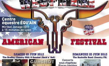 Festival Américain West'n'Bike - Jonage (01) – 22 & 23 juin 2013