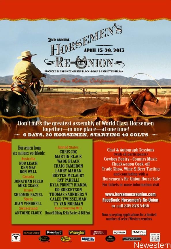 The Horsemen's Re-Union – Paso Robles (Californie) – 15 au