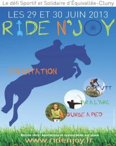 Affiche Ride N' Joy - Basse déf