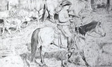 Serge Le Corre réalise vos dessins et peintures western