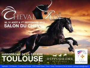affiche Cheval Roi