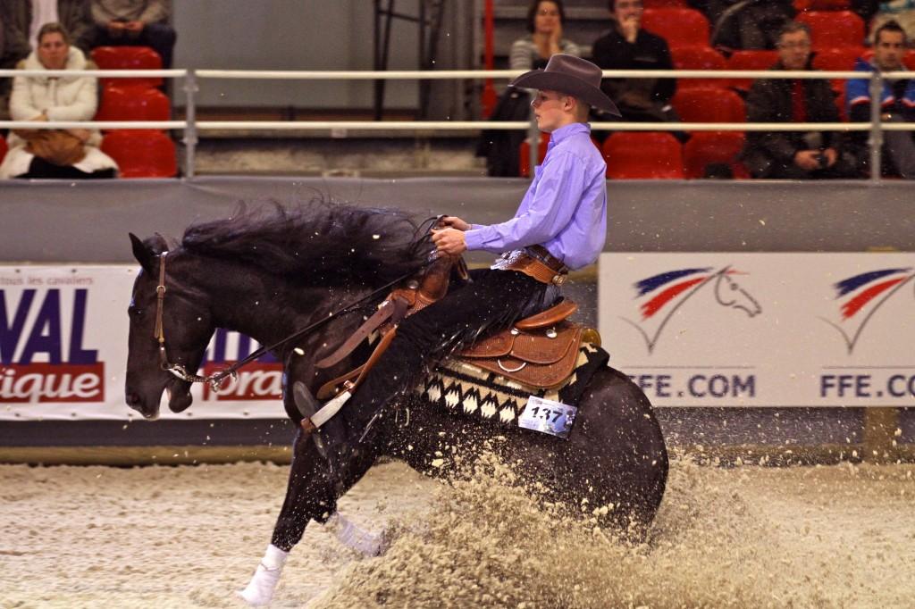 Villepinte 93 salon du cheval de paris reining for Salon du cheval paris adresse