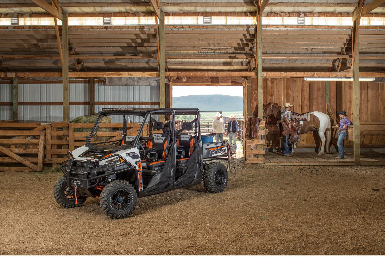 Avec ce partenariat avec la PRCA, Polaris consolide une image déjà parfaitement associée à l'équipement des ranchs © Polaris