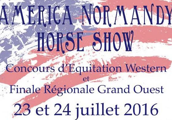 Caen (14) - America Normandy Horse Show – 23 et 24 juillet 2016