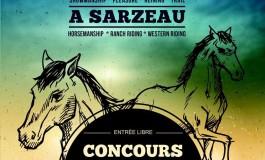 Concours d'équitation western à Sarzeau (56) les 28 et 29 mai 2016