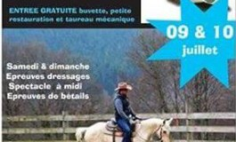 En Limousin, concours Western Made In The USA – FFE – 09 et 10 juillet 2016