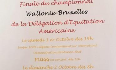 Joute au somment ce prochain week-end en Belgique
