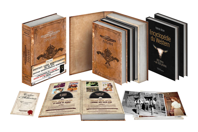 Cadeau de fin d'année idéal pour un passionné de westerns : le coffret de westerns de légende de Sidonis + « l'Encyclopédie du Western » de Patrick Brion… On y pense déjà notamment si l'on souhaite mutualiser l'achat.