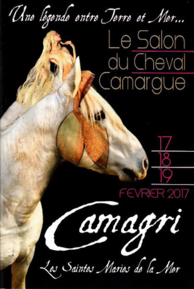 Le cheval camargue fait salon du 17 au 19 f vrier 2017 sur for Salon du cheval lyon 2017