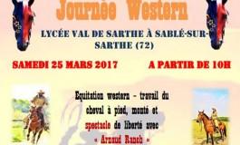L'équitation western accueillie et fêtée au lycée agricole Val de Sarthe samedi 25 mars 2017