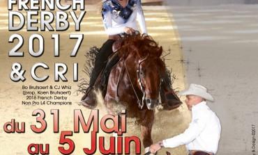 Avis aux reiners : les inscriptions pour le French Derby et le CRI sont en cours
