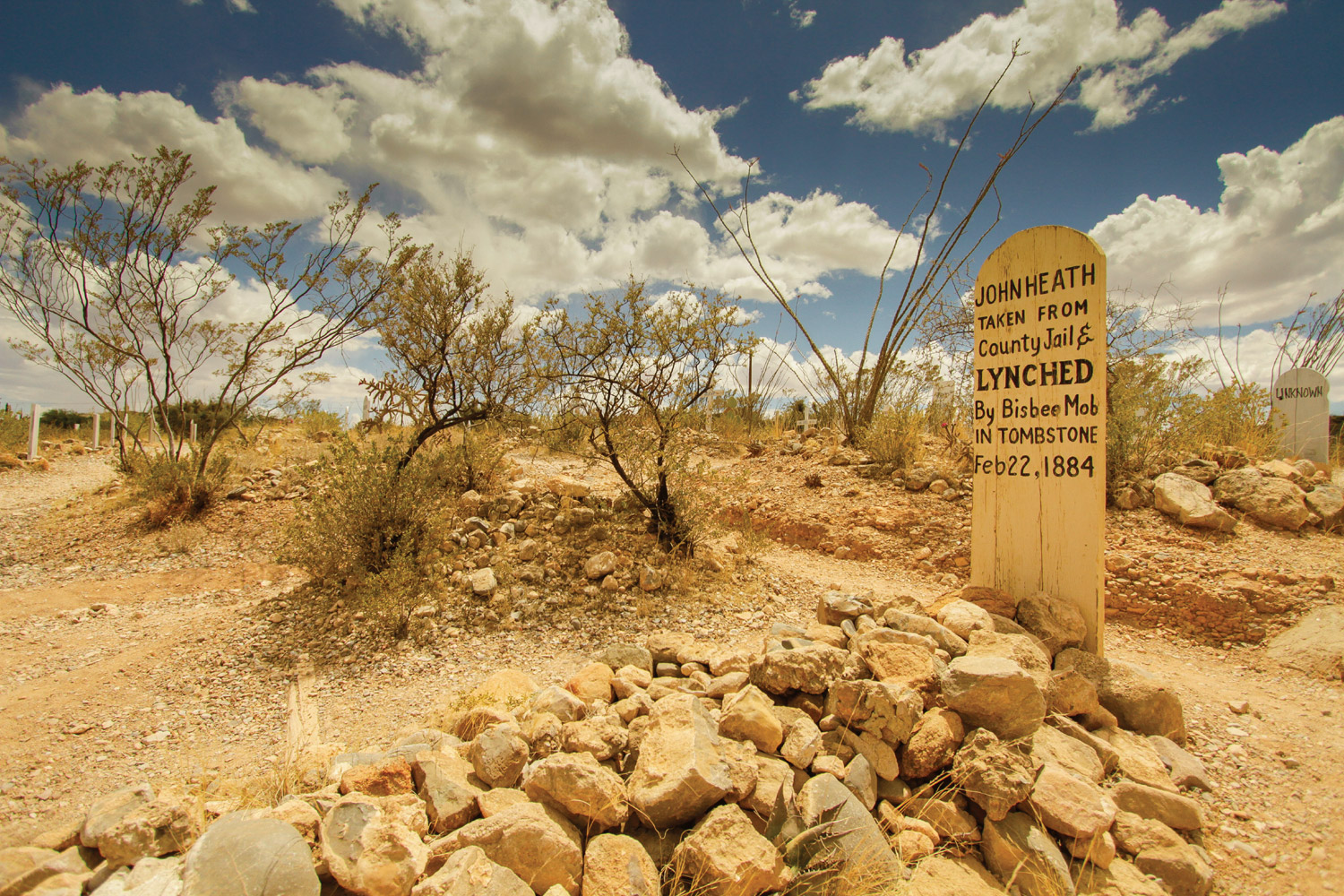 Tombstone Boothill Cemetery ©Visit Arizona
