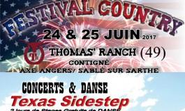 Les couleurs western flottent sur le Thomas' Ranch les 24 et 25 juin 2017