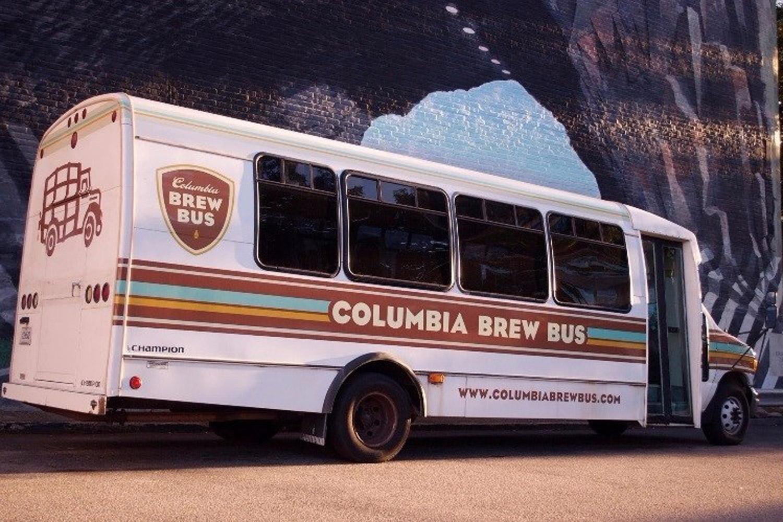 Un bus spécial pour faire la tournée des brasseries artisanales en Caroline du Sud. ©DR
