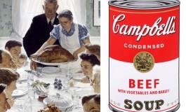 Rockwell et Warhol, leurs images de l'Amérique réunies dans le Massachusetts