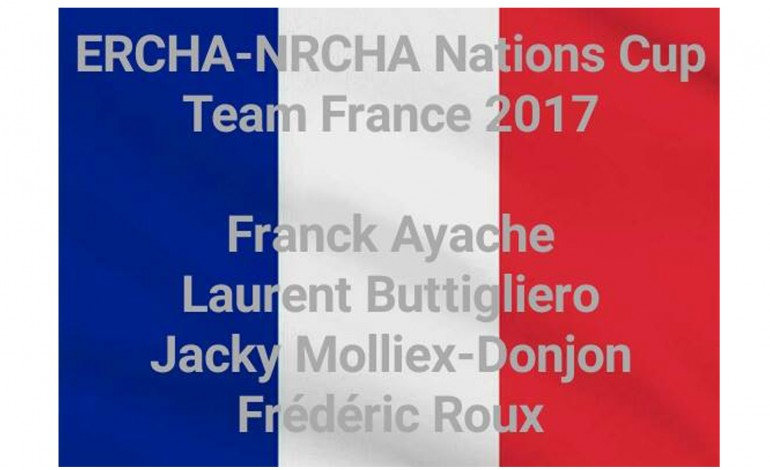 Reined Cow Horse à Augsburg (Allemagne) lors d'Americana : ERCHA/NRCHA Nations Cup 2017