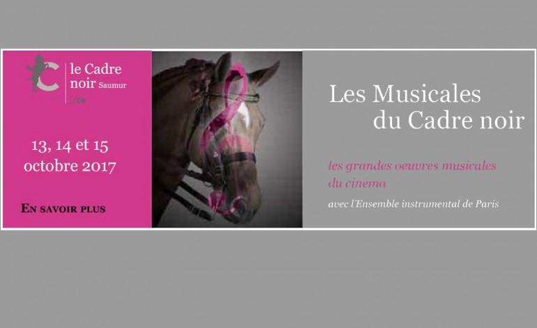 Chevaux, musique et 7ème art, c'est à Saumur…