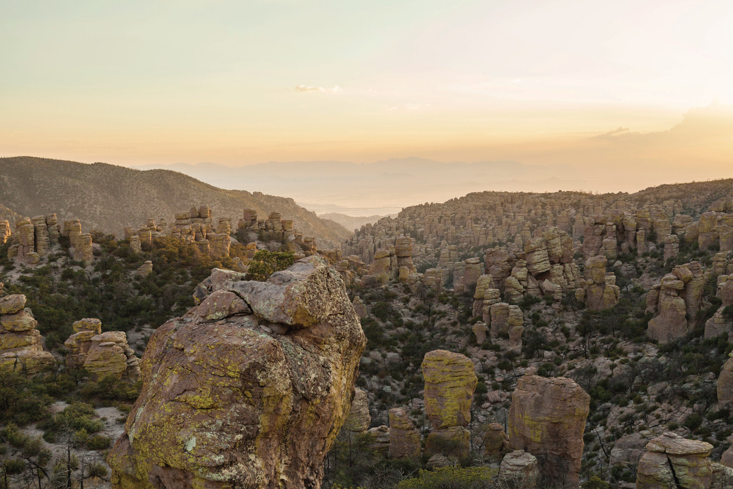 Chiricahuas National Monument © Mark Lipczynski