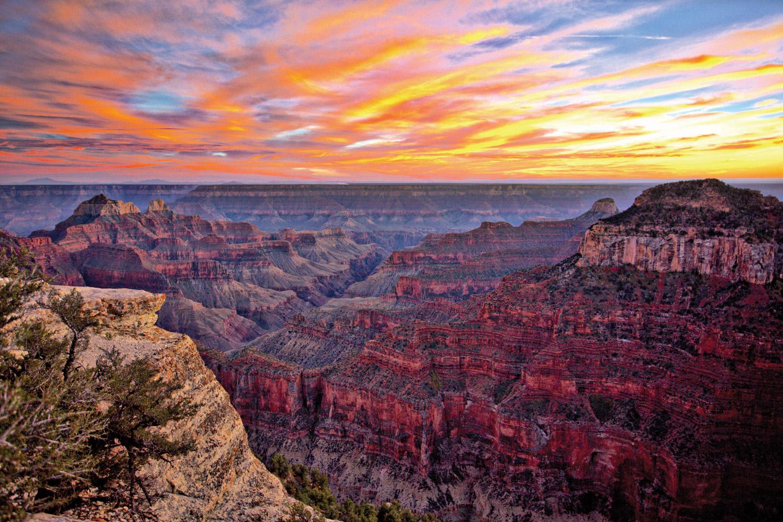 North Rim Grand Canyon National Park © Dennis Swena