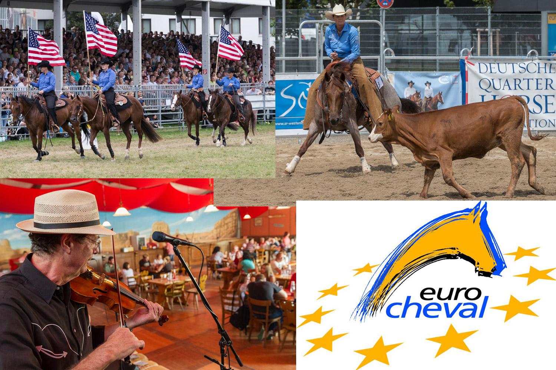 L'équitation western a toute sa place à Eurocheval. ©Messe Offenburg / Braxmaier