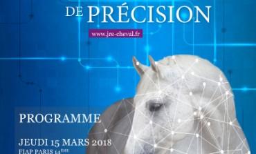 A l'issue du jeudi 15 mars 2018, vous serez – si vous le voulez – au fait de la pointe de la recherche équine…