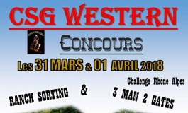 Ranch sorting et 3 man 2 gate à Crépol (Drôme) ce week-end