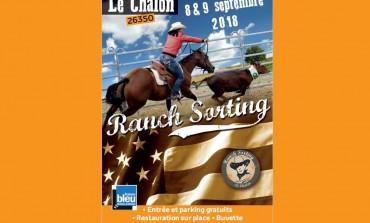 Concours de ranch sorting aux confins de la Drôme et de l'Isère