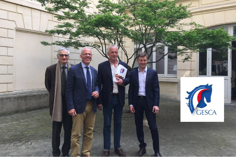 De gauche à droite : Richard Crépon / AEG, Thierry Sodoir / SEPT, Philippe Audigé / GHN, Thibault Lamare / SEDJ. ©DR
