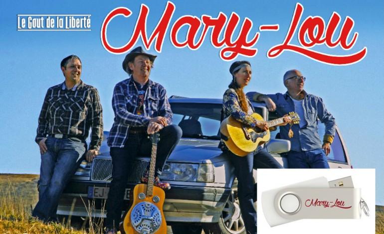Mary-Lou, à écouter comme vous voulez… en concert ou depuis la clé !