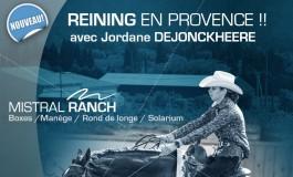 Entraînement de reining : du nouveau dans le Vaucluse
