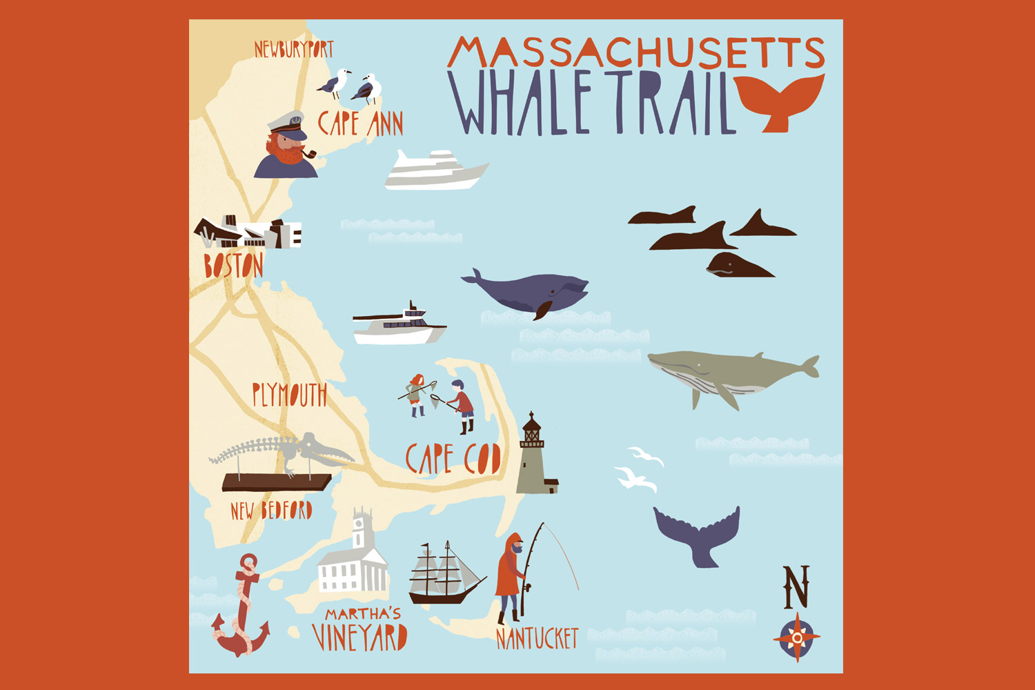 © Massachusetts Whale Trail