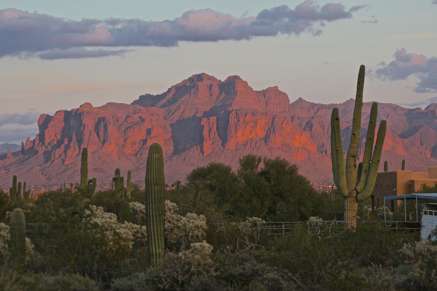 Superstition Mountains © Mike Mulvahill