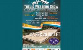 Thelis Western Show : tri de bétail à St Symphorien de Lay (Loire)