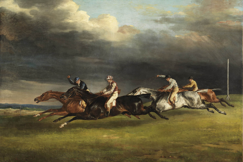 Théodore Géricault - Course de chevaux dit Le Derby de 1821 à Epsom ©DR