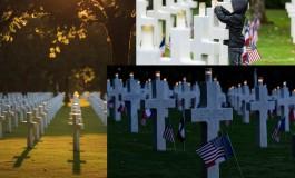 14 000 bougies comme 14 000 vies américaines fauchées sur le sol français durant la Grande Guerre