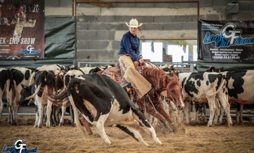 Cutting Show NCHA approved au Look Out Ranch d'Isserteaux (63), le récit…