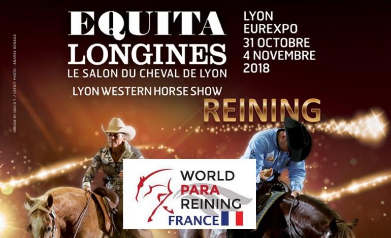 Pour aider Ophélie à concourir en para-reining à Equita Longines…