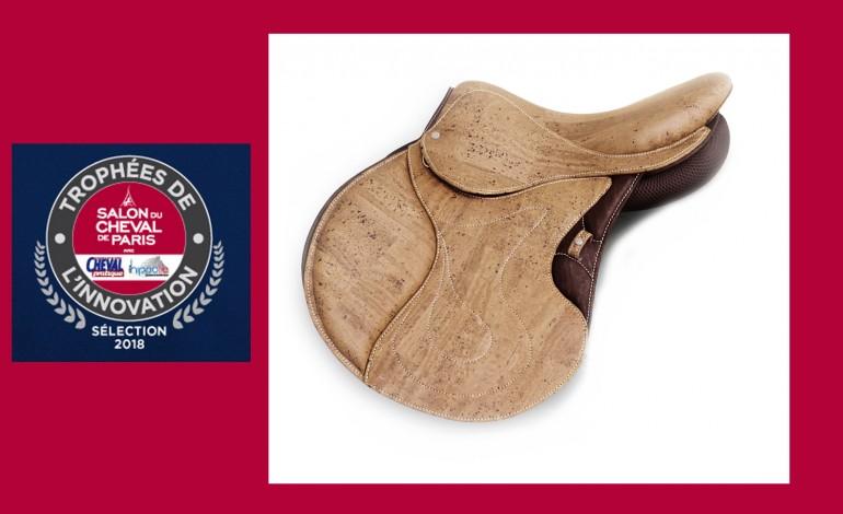 La selle en liège, le public en a fait son Innovation préférée au Salon du Cheval de Paris