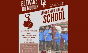 C'est la rentrée à la Junior Bull Riding School !