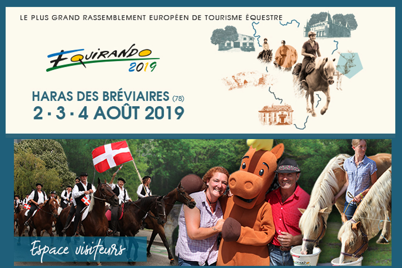 Certains cavaliers partent plusieurs mois et effectuent 1 000, 2 000 voire même 3 000 km de randonnée avant leur arrivée. ©DR