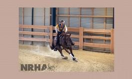 Ann Fonck devient Million Dollar Rider NRHA