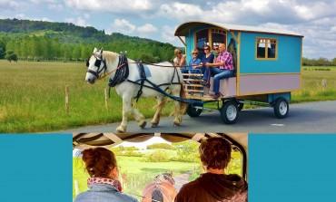 Quand le cheval vous conduit en vacances…
