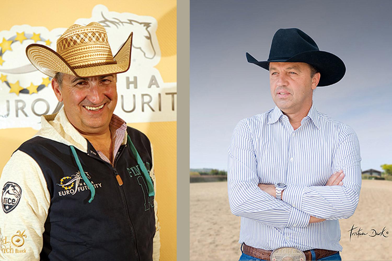 Claudio Risso (à gauche) et Roberto Cuoghi (à droite) © DR – All rights reserved