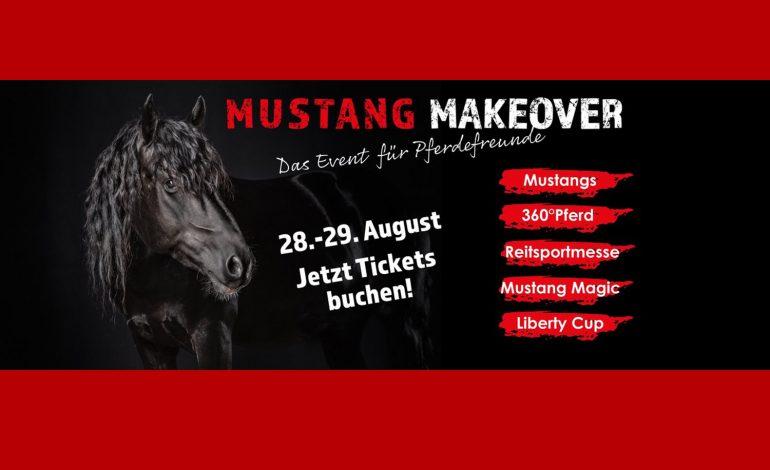 Mustang Makeover Germany – Que le show commence, vivez-le en direct !