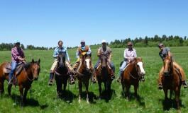 «Du Dude Ranch au Wyoming: Le rêve», récit et images...