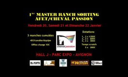 Premier Master AFET / Cheval Passion de Ranch Sorting Open (20 au 22 janvier 2017)