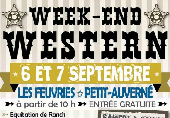 Petit Auverné (44) - Arnaud Ranch - 6 & 7 septembre - Week-End Western