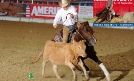 Americana 2017 : 37 000 US $ de dotation en reined cow horse, un record