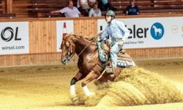 Reining : le Français Axel Pesek champion du monde FEI Junior au CS Ranch à Givrins (Suisse)