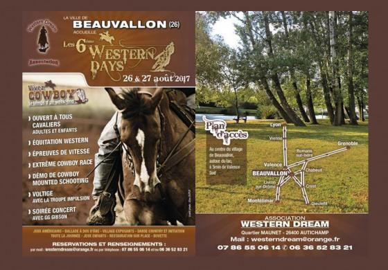 Tous aux Western Days de Beauvallon (Drôme) fin août, découvrez la vidéo !